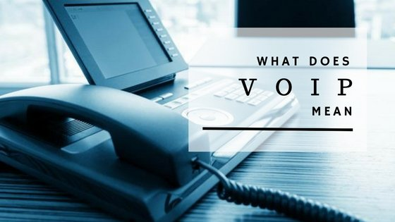 What Does VoiP Mean? - Low Latency Communications